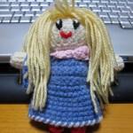 上海人形(???)の編みぐるみ